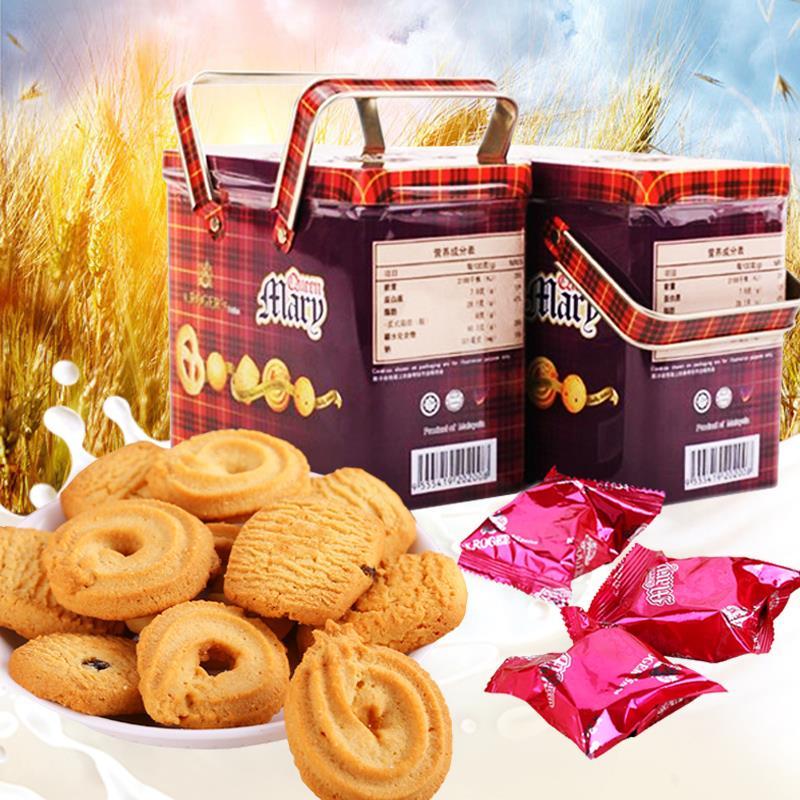 进口纯黄油曲奇饼干原装进口228g,积分:798